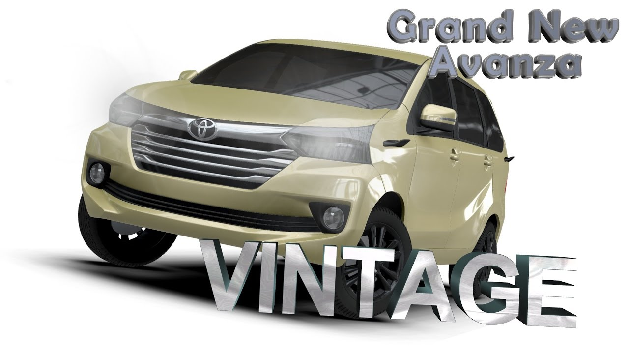 aksesoris grand new avanza 2017 suspensi aerokitz modifikasi toyota vintage style
