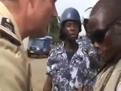 Cette photo qui gene le colonel francais au Togo.     La marche 7 Aout 2017 au Togo