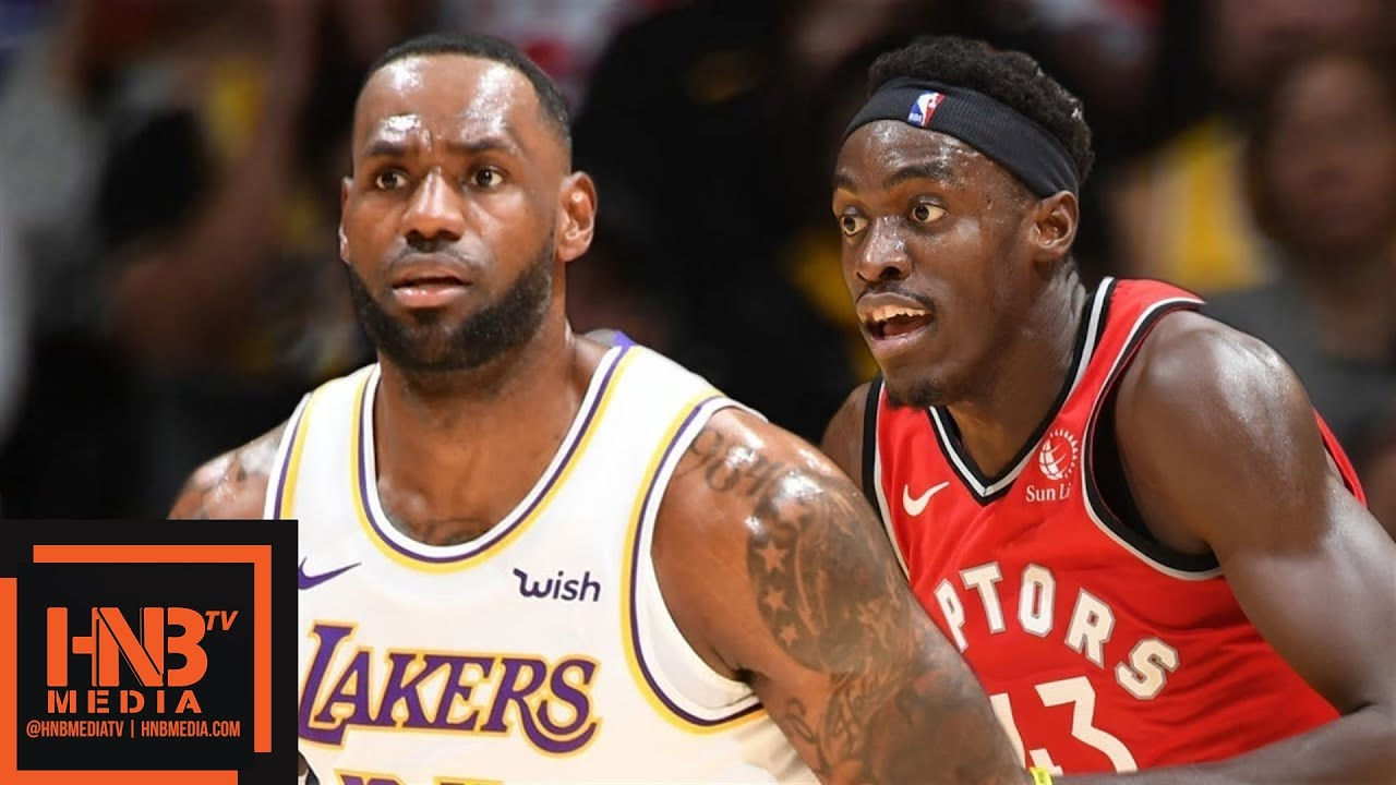 Los Angeles Lakers vs Toronto Raptors - Full Game Highlights | November 10, 2019-20 NBA Season