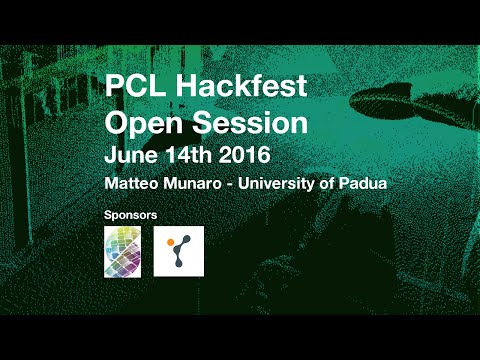 People Detection and Tracking in RGB-D Data by Matteo Munaro @ PCL Hackfest June 2016