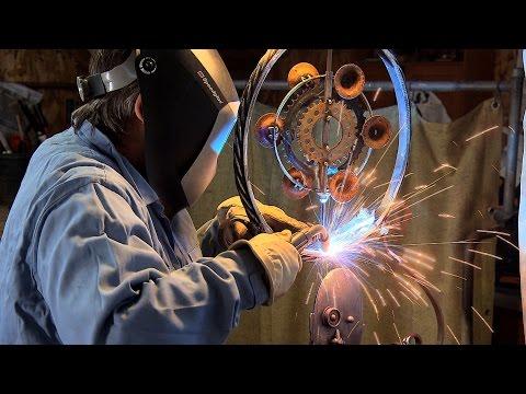 Northwest Profiles: Steeling Smiles (metal sculpture artist)
