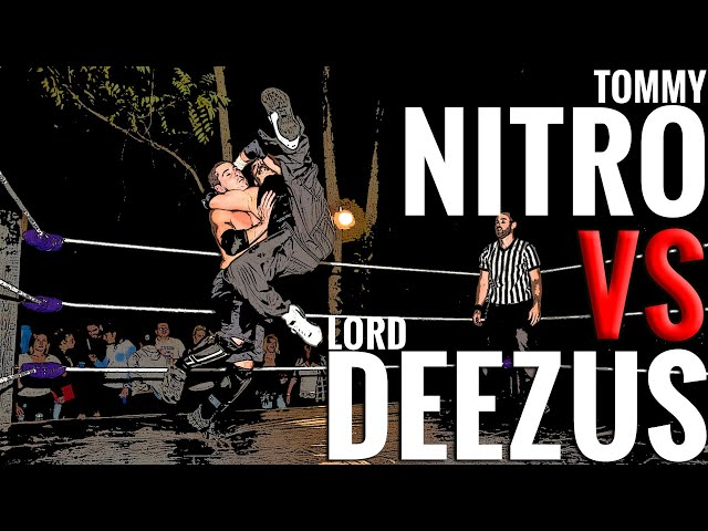 BYB 2016 - Tommy Nitro vs. The Immortal Lord Deezus