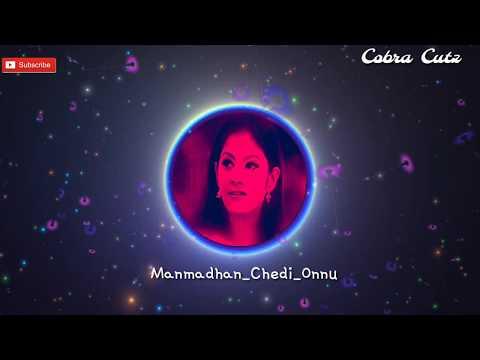 Whatsapp Status Tamil   Love Bit Song   Manmadhan   Chedi Onnu Moolaikkudhey