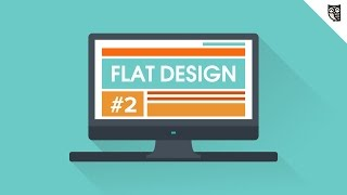 Flat Design - #2 - Плюсы и минусы