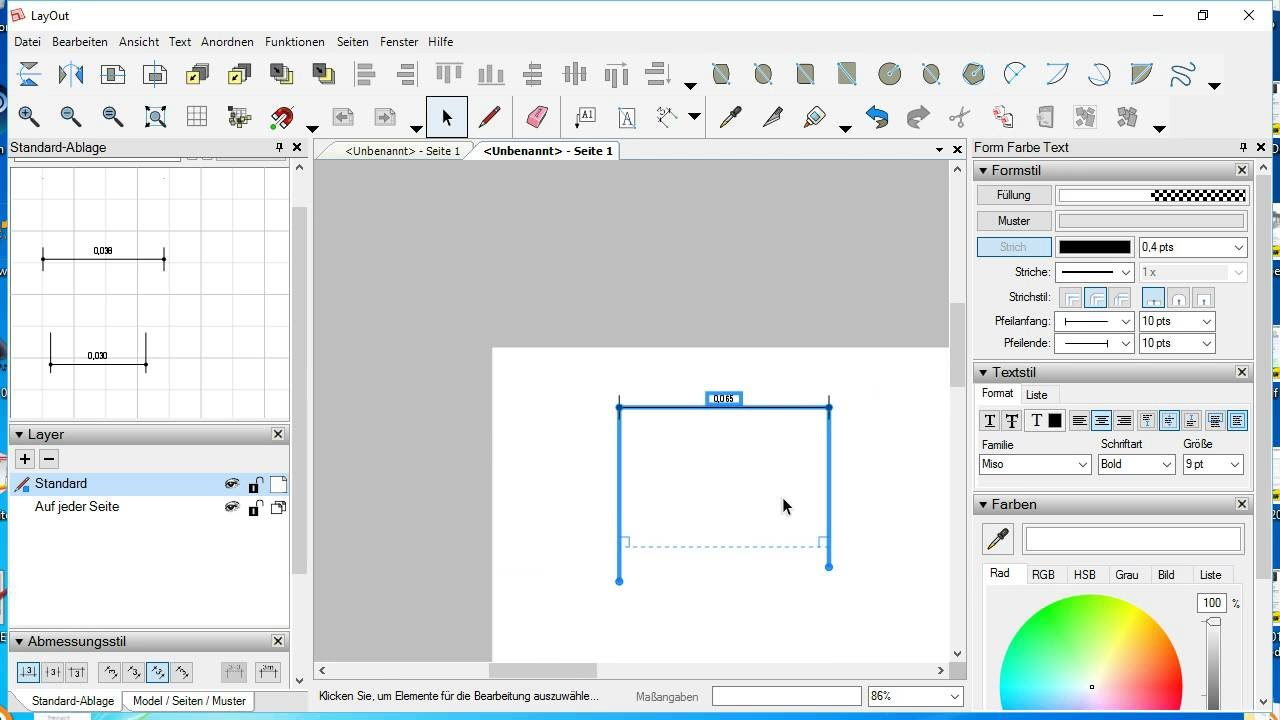 Sketchup Layout Dimensions Tips Tricks Youtube