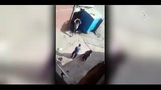 Hombre le tiró ladrillo en la cara a su yerno por defender a su hija - CHV NOTICIAS