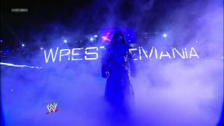 Undertaker walks into Hell in a Cell: WrestleMania 28