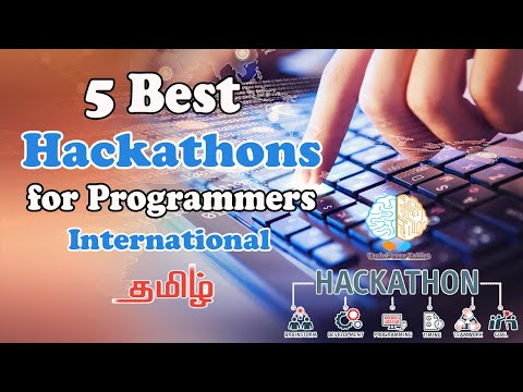 5 Best Hackathon Events for Programmers in Tamil | International Coding Marathon | Prize Money & Job