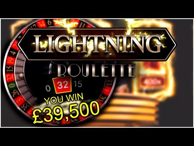 INSANE WIN LIGHTNING ROULETTE????