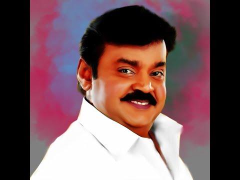 Actor Vijiyakanth Smudge art II Time-lapse II Links in Descriptions II