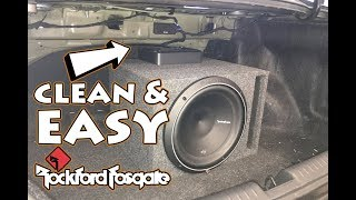 HOW TO INSTALL AN AMP TO A FACTORY RADIO | 2015 HONDA CIVIC