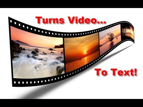 Turns Youtube Videos To Text | Video To Text Trick!