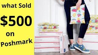 $500 in 2 Days - What Sold on Poshmark   Vintage, Modern, Designer, Shoes, & Bags #thrift #poshmark