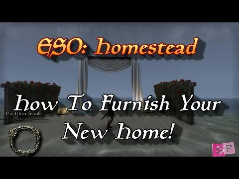 ESO: Homestead - How to Furnish Your New Home! - YouTube