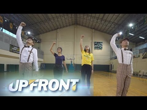 Upfront: FEU's Kyle Negrito bust some dance moves with the UAAP streetdance champions