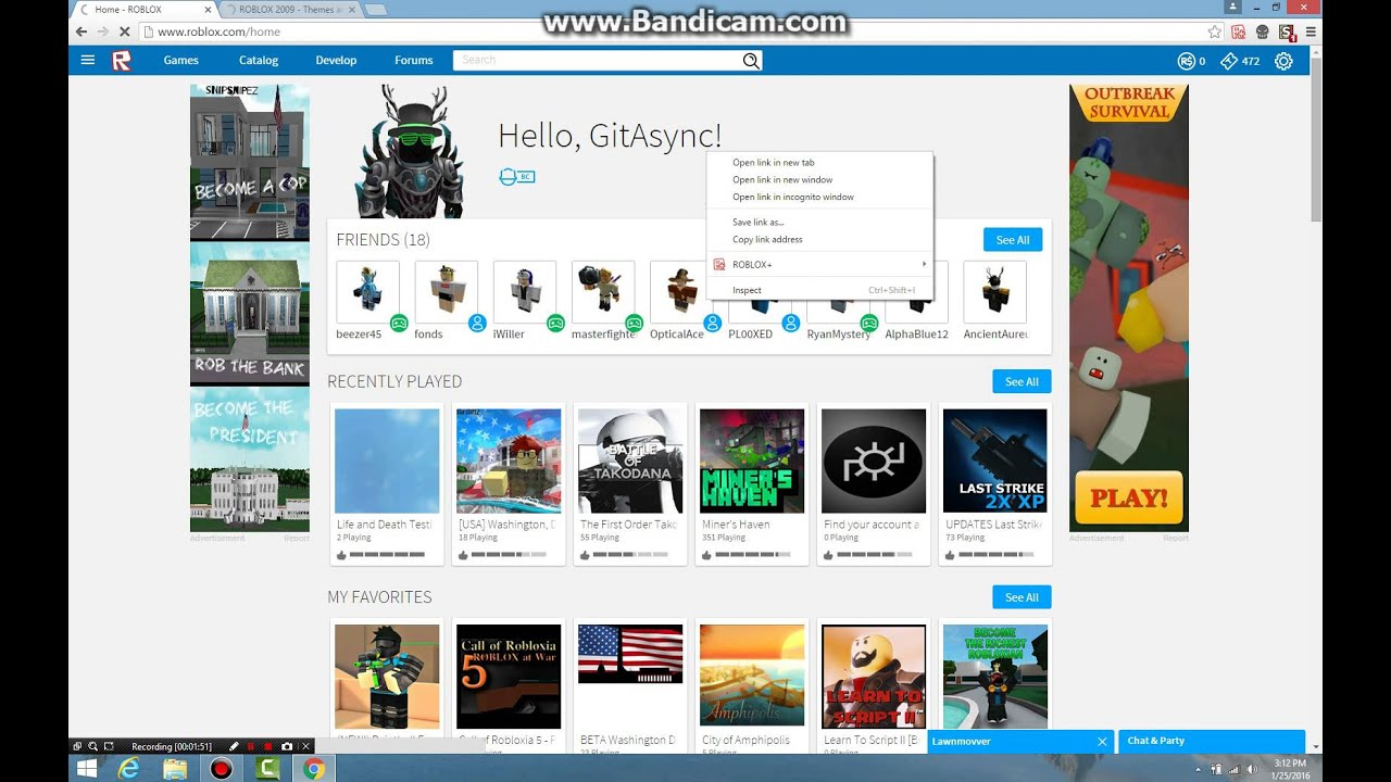 How To Get The Old Roblox Website Back Youtube