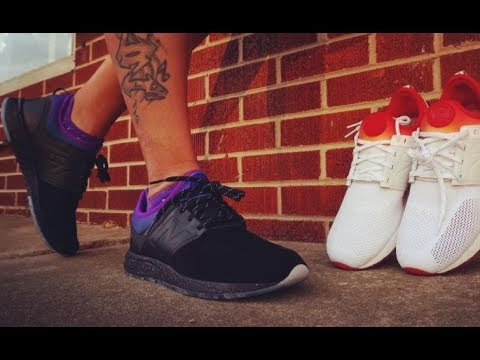 f90b7c83c Stance New Balance 247 All Night Collab Sneaker On Feet Review - YouTube