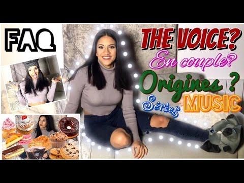 FAQ : Origines, The Voice, Celibataire ? | Eva Guess