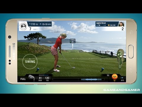 TOP 5 GOLF GAMES FOR IPHONE AND ANDROID ( FREE )