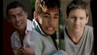 Cristiano Ronaldo Neymar JR Lionel Messi Best Funny Moments (Funny Football Commercials) thumbnail