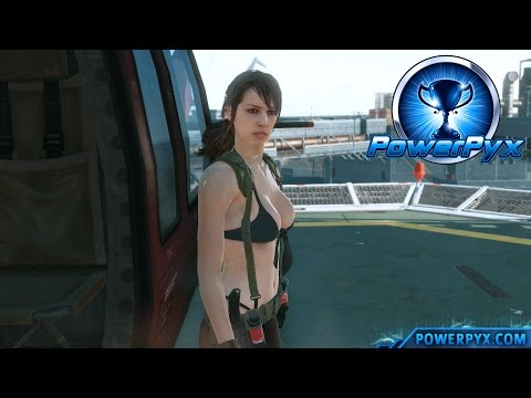 Metal Gear Solid V: The Phantom Pain - How To Recruit Quiet (Speechless Trophy / Achievement Guide)