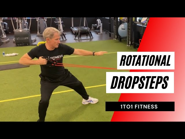 OPEN YOUR HIPS w/Rotational Drop Steps!