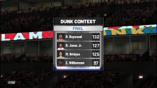 How to win NBA 2K20 Dunk Contest