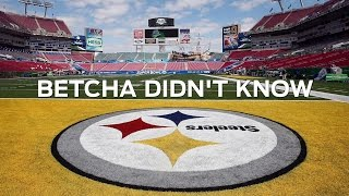 Why is the Pittsburgh Steelers Logo Only on One Side? - Betcha Didn