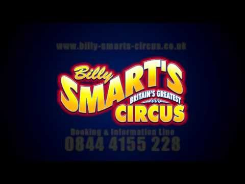 Billy Smart's Circus (UK) Promo 2013