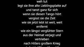 Wenn Sie Diesen Tango hört Pur lyrics Daniel Wirtz cover