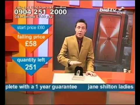 Andy Hodgson has good fun selling a Jane Shilton watch on Bid TV