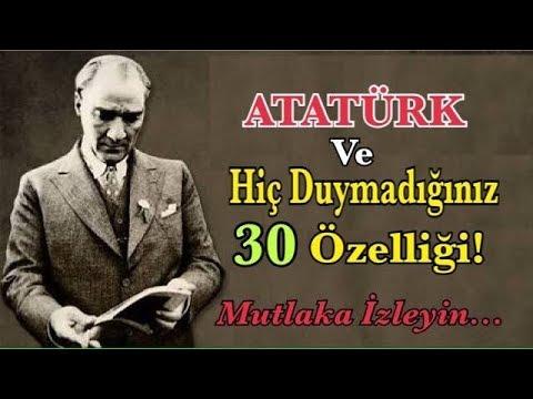 Atatürk Hakkında Hiç Bilmedikleriniz! ŞOK OLACAKSINIZ