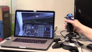 Saitek Fly5 stick on Mac with X Plane 10