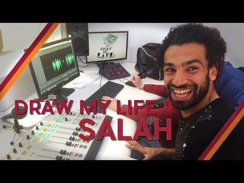 MOHAMED SALAH | DRAW MY LIFE| EPISODE 11