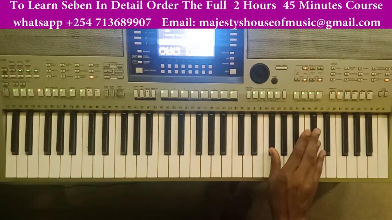Download Sebene- Lingala Piano Movements ( Watch And Learn)