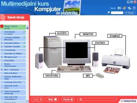 Multimedijalni kompjuterski kurs za pocetnike part 1/5