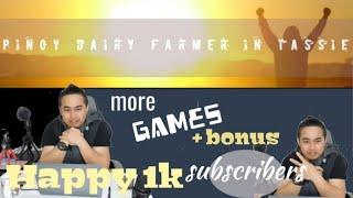 1k subs Game Annoucement Spin the Luck | PinoyDairyFarmer