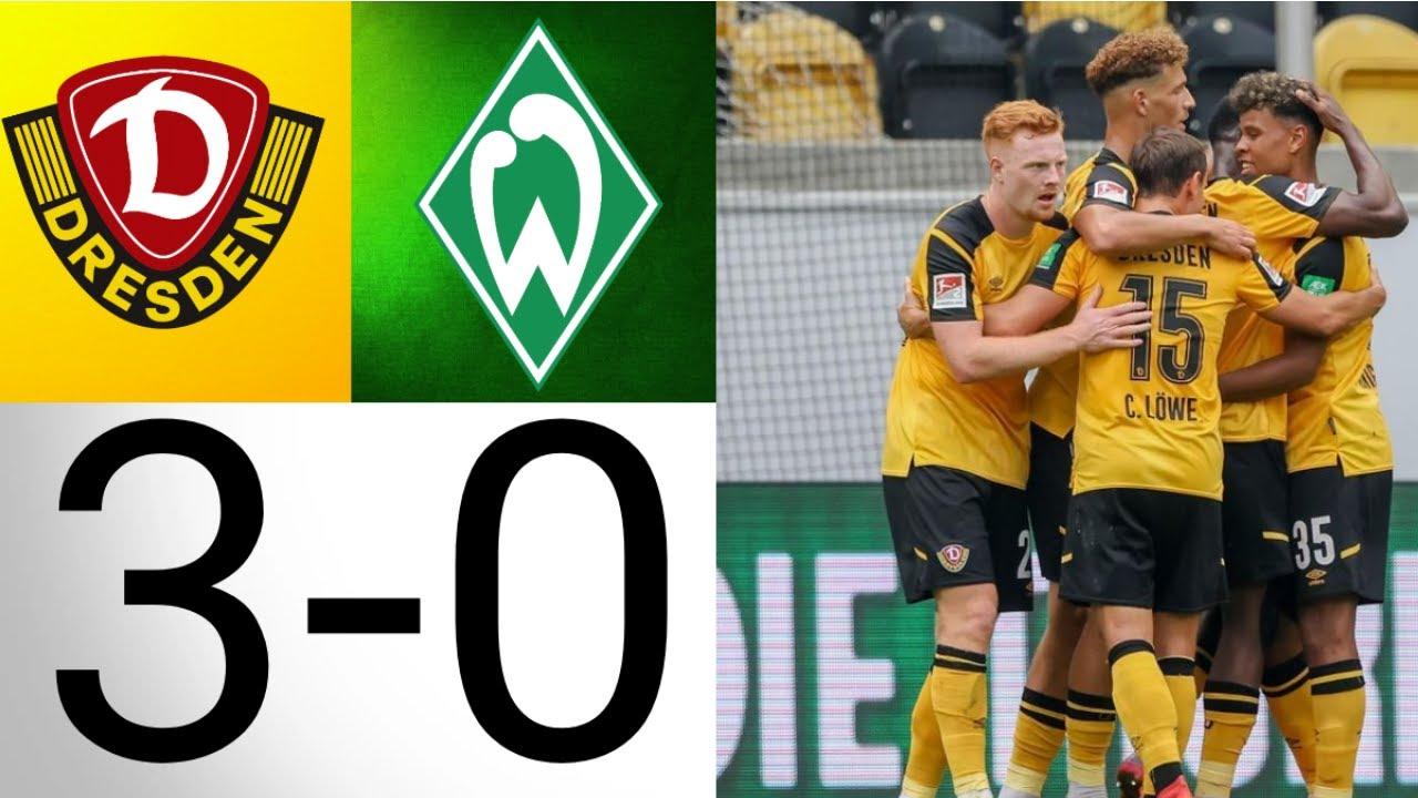 Download SV Werder Bremen - Dynamo Dresden / 0-3 Dynamo gewinnt verdient gegen schwache Bremer