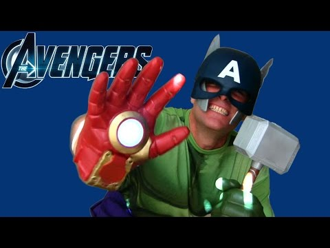 Captain Iron Hulk ThorMerica The Avengers Toy Review! || Superheroes + Action Figures || Konas2002