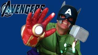 Captain Iron Hulk ThorMerica The Avengers Toy Review! || Superheroes + Action Figures || Konas2002