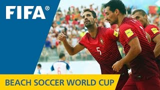 HIGHLIGHTS: Portugal v. Russia - FIFA Beach Soccer World Cup 2015