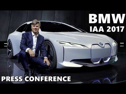 BMW Group IAA 2017 Press Conference - Full Coverage
