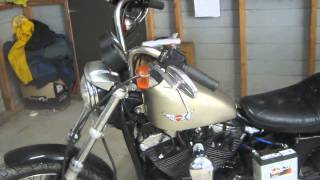 Sportster problem 23(problem was bad ( off ) ignition timing)
