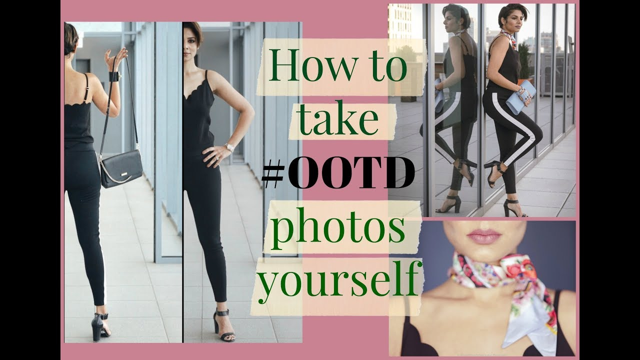 How to take attractive photos of yourself