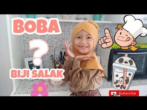 Ini Resep Boba Atau Biji Salak? How to Make Boba? But it's look like Biji Salak...😀