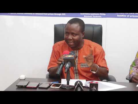 Press Conference on Ghana's Prisons system