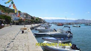 Kroatien - Insel Krk - Ferienort Baška - Teil I. in HD