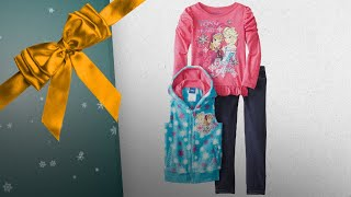 Great Frozen Girls Clothing Sets Gift Ideas / Countdown To Christmas 2018! | Christmas Gift Guide