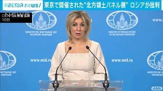 新宿の北方領土パネル展 ロシア外務省が激しく批判(2020年12月11日) - YouTube
