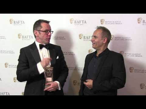 Scottish BAFTAs 2014  Outstanding contribution to craft award   Tommy Gormley